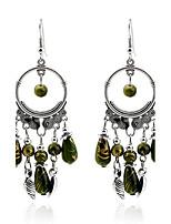 Per donna Orecchini Set Classico Geometrico Vintage Smeraldo Lega Gioielli Per Feste Evento Per uscire Serata