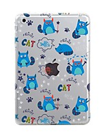 cheap -Case for iPad (2017) Pro10.5 Cover Transparent Pattern Back Cover Case Tile Cat Soft TPU for iPad Pro12.9 Pro9.7 Air Air2 iPad234 mini123 mini4