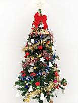 1pc 1.5 m / 150cm lusso decorativo albero di Natale decorato soggiorno suite suite pacchetti hotel natale nuovo anno gif