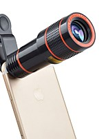 APEXEL APL-12CX3 Mobile Phone Lens 12X Telephoto 180  Fish Eyes 0.65X Wide Angle 10X Macro External Camera