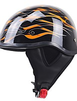 Half Helmet Relaxed Fit Fastness Breathable ABS Motorcycle Helmets