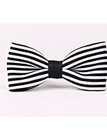 Men's Knit Bow Tie,Casual Fashion Striped All Seasons