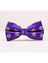 Men's Polyester Bow Tie,Casual Jacquard All Seasons