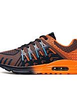 Da uomo Sneakers Comoda Autunno Inverno Tulle Casual Lacci Piatto Arancione Giallo Blu Piatto