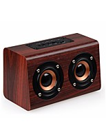 w7 Wooden Bluetooth Speaker Suitable for Mobile Phone Notebook Speaker PC Socket TF Card/AUX Mini Speaker Bass Sound