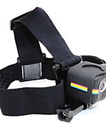 TELESIN Elastic Adjustable Head Strap Anti-slide Glue Mount Headstrap with Frame Housing Adapter for Polaroid Cube and Cube Plus
