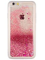 Caso per la mela iphone 7 più copertura di iphone 7 copre la copertura posteriore del liquido scintillante scintillante pc duro per il