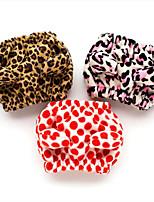 Cane Bandane e berretti Abbigliamento per cani Cosplay Casual Leopardo Rosso Rosa Leopardo