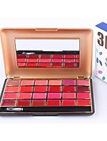24-Colors Matte Lipstick Palette Professional Multi-Colours Solid Lip Gloss