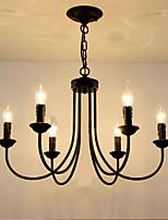 Lustres de cristal de estilo europeu sala de jantar luzes de jantar simples velas criativas lâmpadas e lanternas novidade lightig