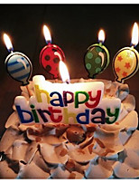 Аксессуары для вечеринок День рождения Праздник совершеннолетия 1 шт. Свечи Other Рождение ребенка Новорожденный День рождения