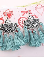Women's Drop Earrings Oversized Fashion Bohemian Alloy Geometric Jewelry For Party Daily