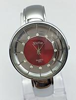Women's Fashion Watch Wrist watch Chinese Quartz Metal Band Bangle Casual Silver