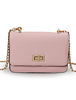 Women Bags All Seasons PU Shoulder Bag for Casual Gold Black Red Blushing Pink Purple