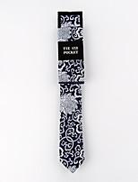 Men's Cotton Neck Tie,Fashion Print All Seasons