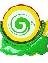 Music Toys Toy Instruments Toys Round Piano Musical Instruments Snail Drum Set Animal Plastics Hard plastic Pieces Kid Unisex Gift