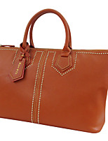 Women Bags All Seasons Cowhide Tote for Casual Camel