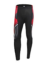 Jaggad Cycling Jersey with Tights Men's Long Sleeves Bike Jersey Compression Clothing Padded Shorts/Chamois Clothing Suits Cycling Spandex
