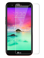 cheap -Screen Protector For LG K8 2017 Tempered Glass High Definition (HD) 9H Hardness 2.5D Curved edge Front