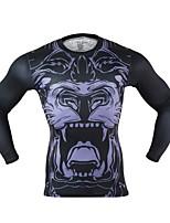 Arsuxeo Per uomo T-shirt da corsa Asciugatura rapida Sfregamento ridotto Leggero per Yoga Corsa Boxe Ciclismo Esercizi di fitness Fitness