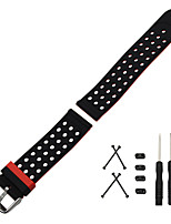 cheap -For Suunto Core Watch Band Wrist Belt Bracelet Silicone Rubber Watchband Double Side Wearing Strap Lug Adapters  Tool