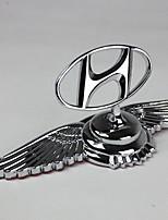Automobil-Logo spezielle Autoabdeckung Standard-Motorabdeckung Zink-Legierung