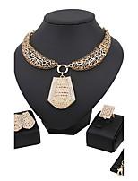 Damen Halskette Modisch Böhmen-Art Künstliche Perle Strass vergoldet Für Hochzeit Party Geburtstag Zeremonie Hochzeitsgeschenke