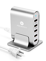 USB Charger 5 Ports Desk Charger Station US Plug Charging Adapter