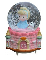 Balls Music Box Toys Round ABS Pieces Girls' Birthday Gift