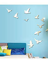The Bird Pigeon Creative Specular Adornment Wall Stickers