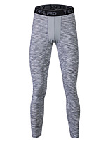 Men's Running Tights Gym Leggings Sweat-wicking Safety Push Up Casual Tights Bottoms for Yoga Running/Jogging Exercise & Fitness Back