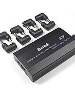 Adattatore universale portatile 505s-90w 3 fori linea di collegamento con 8 connettori doppio uso in auto e casa