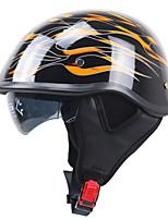 Half Helmet Fastness Durable ABS Motorcycle Helmets
