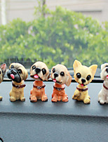 DIY Automotive Ornaments   Dog   Dolls  Car Pendant & Ornaments Plastic