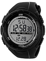 Smart watch Resistente all'acqua Long Standby Sportivo Multiuso Cronometro Allarme sveglia Due fusi orari Cronografo Calendario OtherNo