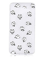Case for Samsung Galaxy A3(2017) A5(2017) Transparent Pattern Back Cover Panda Soft TPU A7(2017) A5(2016) A3(2016)