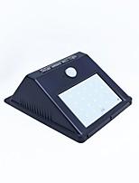 20 lumières moulées par LED alimentées par énergie solaire avec capteur de mouvement rir et capteur de nuit pare-feu imperméable à