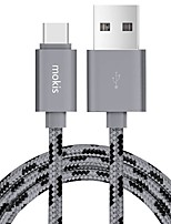 Mokis G14 USB 2.0 Connect Cable USB 2.0 to USB 2.0 Type C Connect Cable Male - Male 1.5m(5Ft)