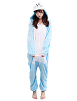 Kigurumi Pajamas Cat Leotard/Onesie Festival/Holiday Animal Sleepwear Halloween Animal Kigurumi For Couples Unisex Halloween Christmas