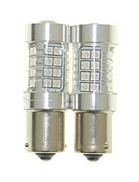 Sencart 2pcs Bau15s 1056 PY21W Bulb Led Car Tail Turn Reverse Light Bulb Lamps(White/Red/Blue/Warm White) (DC/AC9-32V)