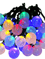 HKV® Solar Lamps 6M 30LED RGB Waterproof Fairy Outdoor Garden Christmas Party Decoration String Light