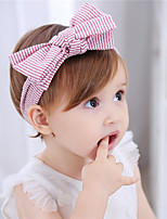 Baby Girl's Hair Accessory Sweet Cute Solid Stripe Bowknot Fashion Hairband