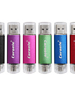 caraele 16gb otg doppio tappo usb flash drive disco u-disk usb memory per android smart phone samsung / computer pc