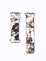 economico -Cinturino per orologio  per Apple Watch Series 3 / 2 / 1 Apple Custodia con cinturino a strappo Chiusura classica Pelle Vera pelle