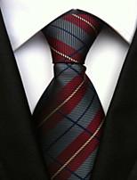 Men's Polyster Neck TieNeckwear Striped All Seasons W0078