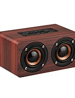 W5 HIFI Wood Wireless Bluetooth Speaker Portable Dual Speakers Mini 3D Blutooth Subwoofer Loudspeaker