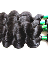 cheap -10a indian body wave virgin hair 4bundles 400g lot raw indian remy human hair extensions weaves natural black color