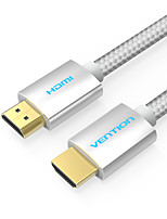VENTION HDMI 2.0 Cavi, HDMI 2.0 to HDMI 2.0 Cavi Maschio/maschio 4K*2K 1.5M (5 piedi)