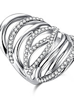 Settings Ring Luxury Euramerican Fashion Elegant Noble Mixed Birthday Wedding Movie Gift Jewelry