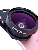 OREA Mobile Phone Lens With Self-Timer Clip 0.45X Wide Angle 15X Macro CPL External Lens